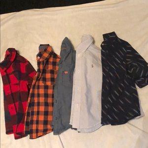 3T long sleeve button down shirts